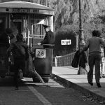 4ème arrondissement – Prendre le bus en marche pont Louis-Philippe