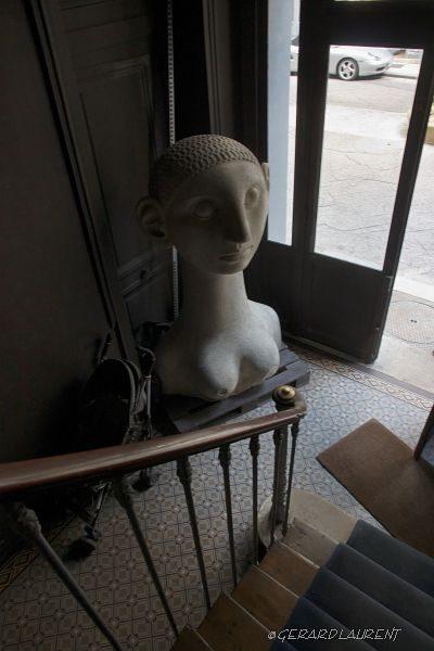 3ème arrondissement - La concierge est dans l'escalier rue des Francs Bourgeois