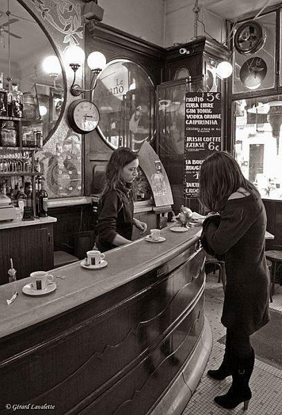 17ème arrondissement - Le petit noir au Cyrano