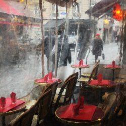 4ème arrondissement – Derrière les bâches de la terrasse des Piétons
