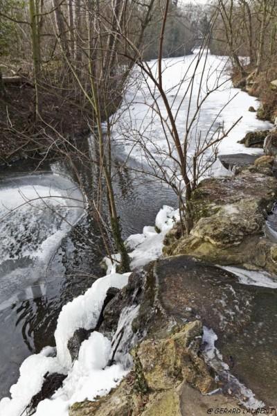 120031 - Grand froid sur le lac des Minimes