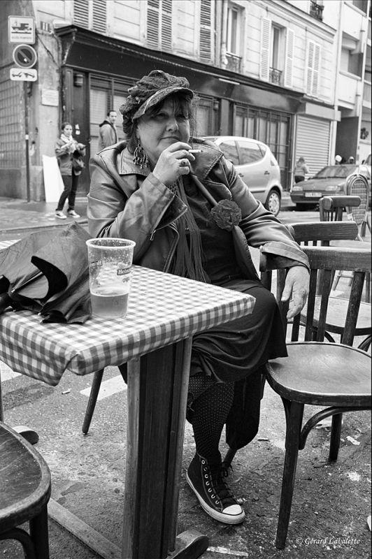 20ème arrondissement – Joé fait une pause au Vieux Belleville