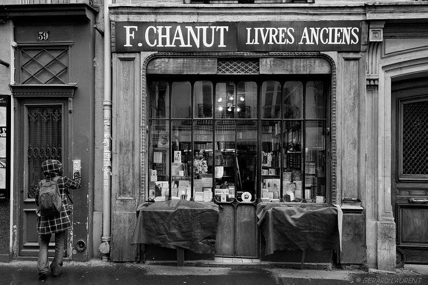 6ème arrondissement – La librairie Chanut rue Mazarine