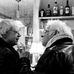 5ème arrondissement – Discussion serrée au comptoir du Verre à pied