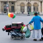 1er arrondissement – La femme aux ballons