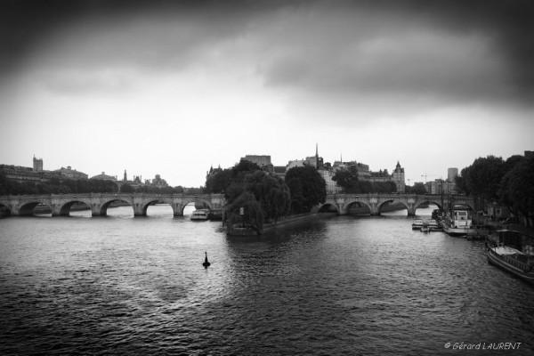 L'ïle de la Cité et le Pont Neuf