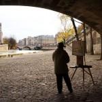 6ème arrondissement – Le peintre du Pont Neuf