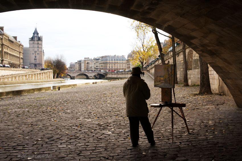 Le peintre du Pont Neuf