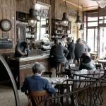 18ème arrondissement – Un coin tranquille au café de la Fourmi