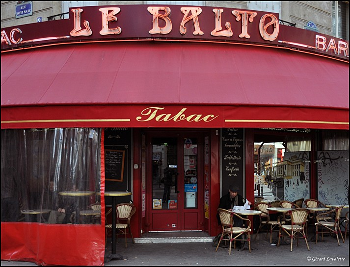 2ème arrondissement – Le bar-tabac Le Balto