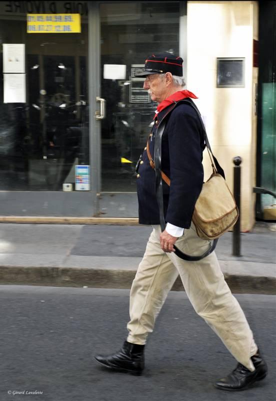 6ème arrondissement – Le facteur des Leveurs de coude