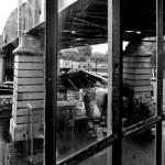 13ème arrondissement – Le marchand de journaux du pont de Bercy