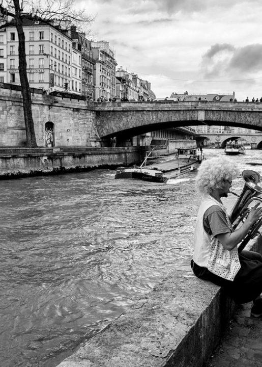 Quatrième arrondissement – le tuba du Quai du Marché Neuf