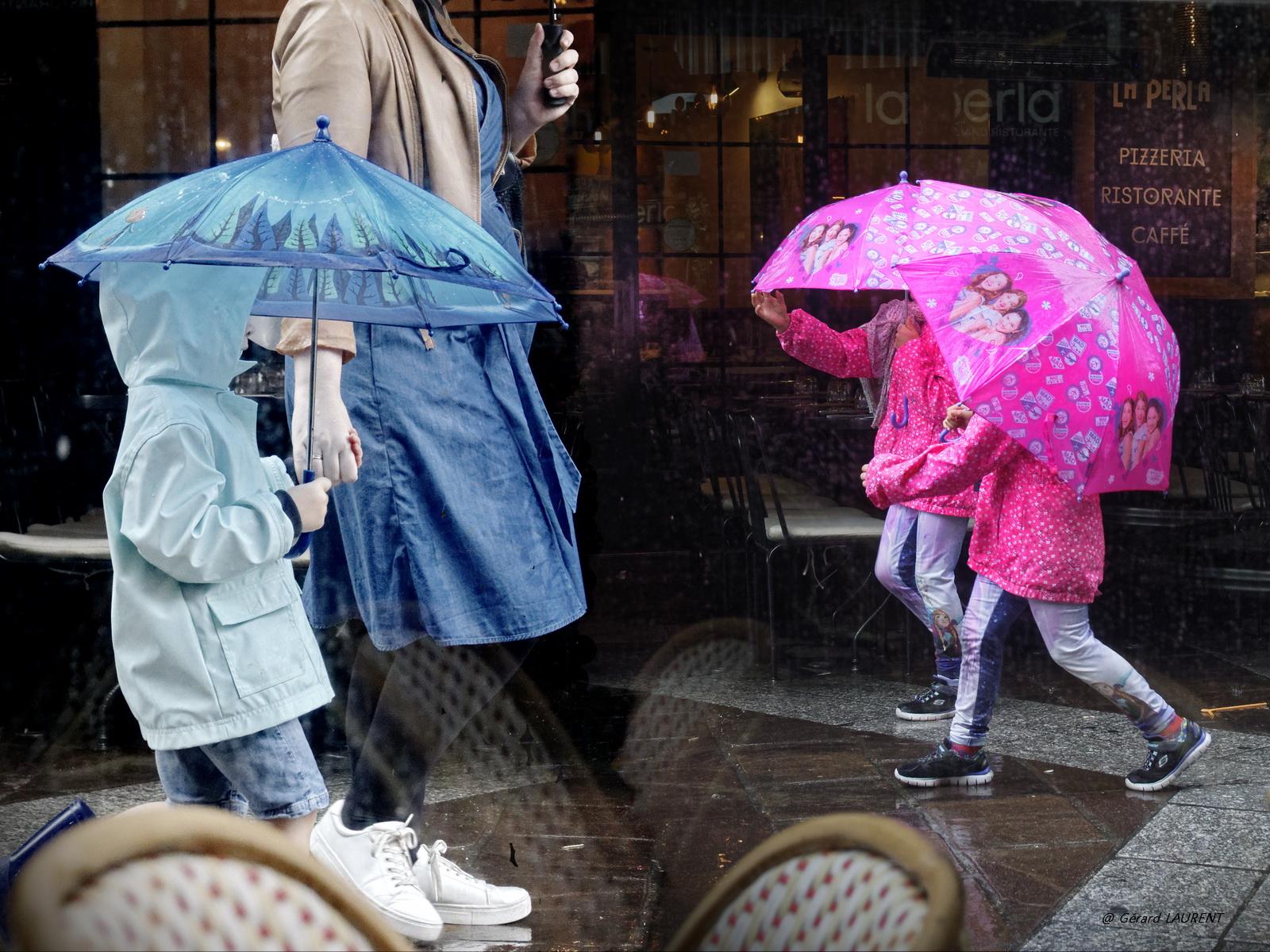 1er arrondissement – Il pleut rue Montorgueil