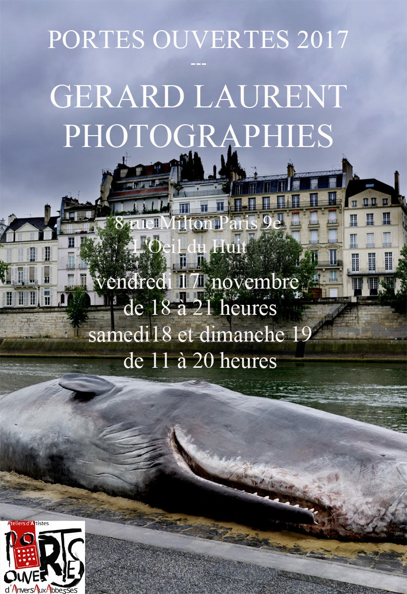 Portes Ouvertes Gérard LAURENT PHOTOGRAPHIES 2017