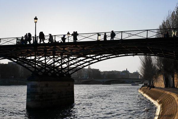 1er arrondissement - Sous les jupes du Pont des Arts
