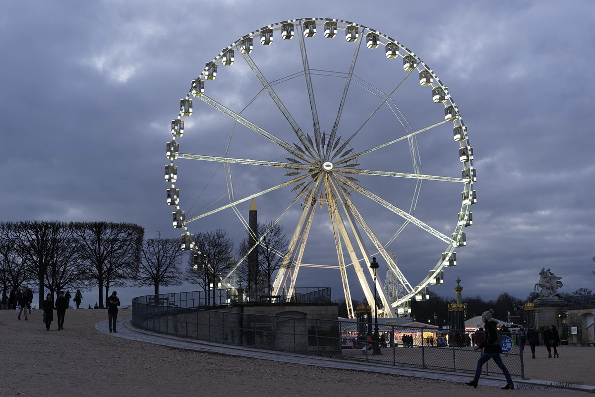 1er arrondissement La grande roue de la Place de la Concorde