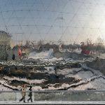 19ème arrondissement – Séance neigeuse à la Géode