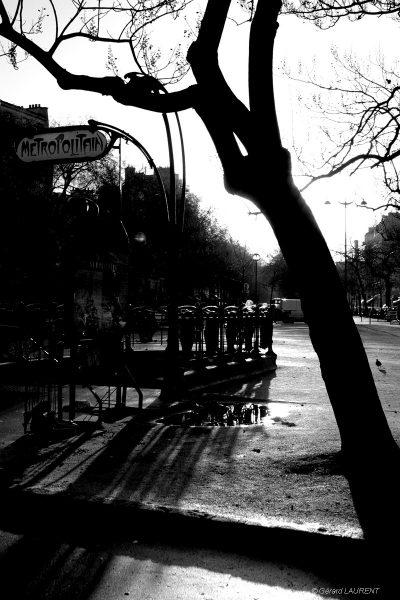 20ème arrondissement - Métro Ménilmontant