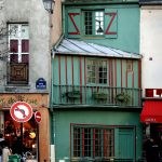 5ème arrondissement – Le petite boutique verte de la rue Galande (2005)