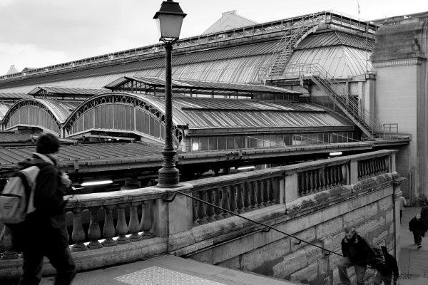 10ème arrondissement - la Gare de l'Est rue d'Alsace (2004)