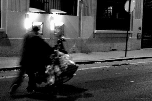 10ème arrondissement - Sans domicile fixe quai de Valmy (2004)