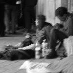 19ème arrondissement – Les sdf du quai de Loire ( 2004)