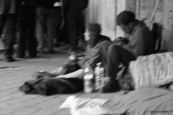 19ème arrondissement - Les sdf du quai de Loire