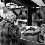 20ème arrondissement – Séance photos sur le marché de la place de la Réunion (2000)