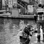 10ème arrondissement – Pompiers pieds lourds Canal Saint Martin